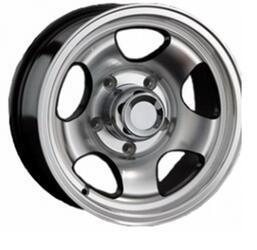Автомобильный диск Литой LS A506 7x15 5/139,7 ET 7 DIA 110 BKF
