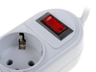 Сетевой фильтр Defender ES Lite серый