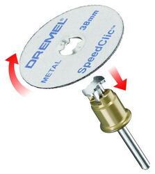 Насадки Dremel Speed Clic SC406 2615S406JC