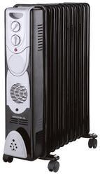 Масляный радиатор Supra ORS-11F-3N черный