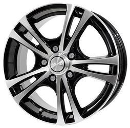 Автомобильный диск Литой Скад Кассиопея 6,5x16 5/100 ET 49 DIA 54,1 алмаз-супер