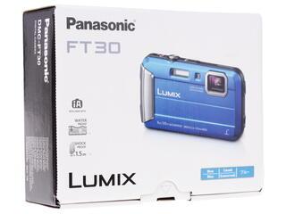 Компактная камера Panasonic Lumix DMC-FT30 голубой
