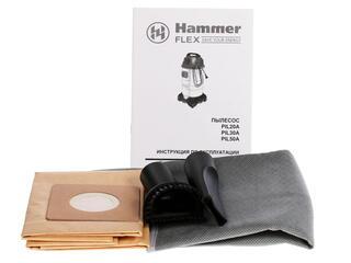 Строительный пылесос Hammer Flex PIL20A