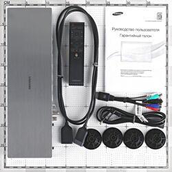 "65"" (165 см)  LED-телевизор Samsung UE65JS9500 серебристый"