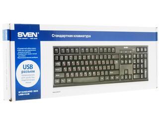 Клавиатура Sven Standard 304 USB+HUB