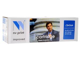 Картридж лазерный NV Print CB436A