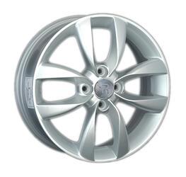 Автомобильный диск литой Replay KI108 6x16 4/100 ET 52 DIA 54,1 Sil