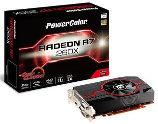 Видеокарта PowerColor AMD Radeon R7 260X [AXR7 260X 2GBD5-DHEV2/OC]