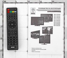 "19"" (48 см)  LED-телевизор Mystery MTV-1923LW черный"
