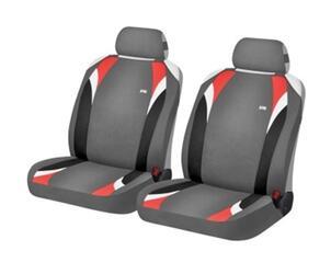 Накидка на сиденье H&R FORMULA FRONT серый/красный
