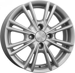 Автомобильный диск Литой K&K Сокол 5,5x14 4/98 ET 35 DIA 58,5 Блэк платинум
