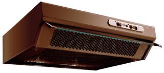 Вытяжка подвесная Turbo Sabaudia F50 BR коричневый