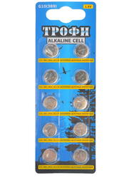 Батарейка Трофи G10