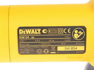 Углошлифовальная машина DeWalt D 28134