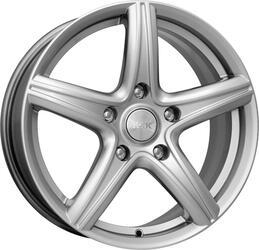 Автомобильный диск литой K&K Барракуда 7,5x17 5/110 ET 41 DIA 65,1 Блэк платинум