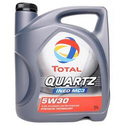 Моторное масло TOTAL QUARTZ INEO EC3 5W30 , минеральные базовые масла