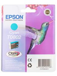 Картридж струйный Epson T0802 (C13T08024011)