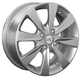 Автомобильный диск Литой LegeArtis GM42 6x15 4/100 ET 45 DIA 56,6 Sil