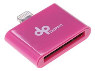 Переходник DIOPRO VAP-CBL5112 30-pin - Lightning 8-pin розовый
