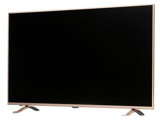 """49"""" (125 см)  LED-телевизор DEXP F49B8000K золотистый"""