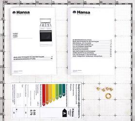 Газовая плита Hansa FCMW58221 белый