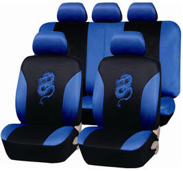 Чехлы на сиденье PSV Dragon синий