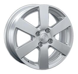 Автомобильный диск литой Replay KI84 6x15 4/100 ET 48 DIA 54,1 Sil