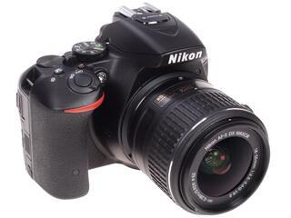 Зеркальная камера Nikon  D5500 kit 18-55mm VR II + 55-200mm VR II черный