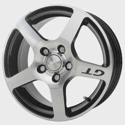 Автомобильный диск Литой Скад Омега 6,5x15 5/114,3 ET 52,5 DIA 67,1 Алмаз