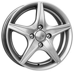 Автомобильный диск Литой K&K Мустанг 5x14 4/98 ET 30 DIA 58,6 Блэк платинум