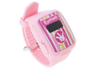 Детские часы-телефон FixiTime Watch розовый
