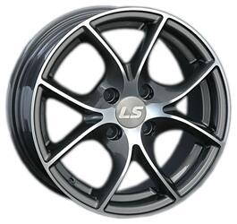 Автомобильный диск Литой LS 244 6x14 4/100 ET 40 DIA 73,1 BKF