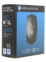 Мышь проводная HP X500