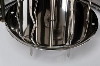 Электрошашлычница Великие реки Охота-2 серебристый