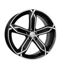 Автомобильный диск Литой K&K X-fighter 8x19 5/108 ET 41 DIA 67,1 Алмаз черный