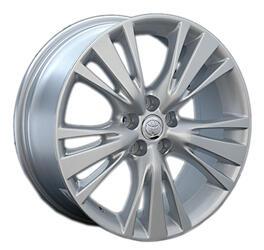 Автомобильный диск литой Replay TY56 7,5x19 5/114,3 ET 30 DIA 60,1 Sil