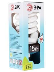 Лампа люминесцентная ЭРА F-SP-15-842-E14
