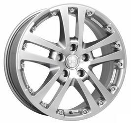 Автомобильный диск литой K&K Центурион 7x17 5/112 ET 47 DIA 57,1 Блэк платинум