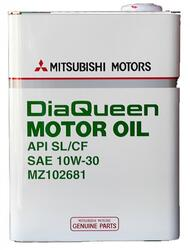 Моторное масло MMC (Orig.Japan) DQ 10W30 MZ102681