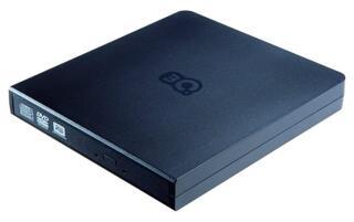 Привод внеш. DVD±RW 3Q (3QODD-T106-PB08) plastic, USB 2.0 Slim