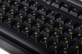 Клавиатура DNS OFFICE KB-007BK