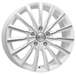 Автомобильный диск Литой K&K Акцент 7x17 5/114,3 ET 48 DIA 67,1 Алмаз вайт
