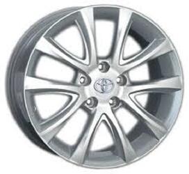 Автомобильный диск литой Replay TY111 7x17 5/114,3 ET 39 DIA 60,1 Sil