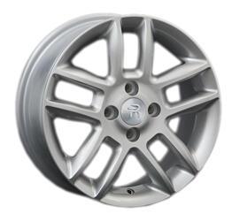 Автомобильный диск литой Replay OPL7 6x15 4/108 ET 43 DIA 57,1 Sil