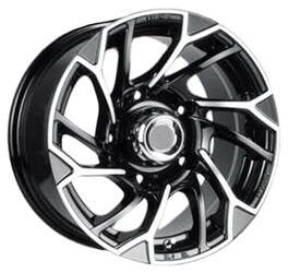 Автомобильный диск литой NZ SH660 7x15 6/139,7 ET -13 DIA 108,2 BKF