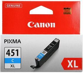 Картридж струйный Canon CLI-451CXL