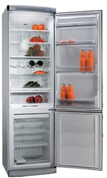 Холодильник с морозильником Ardo COF 2510 SAY серебристый