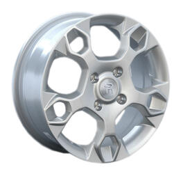Автомобильный диск литой Replay FD29 6x15 4/108 ET 52,5 DIA 63,3 Sil