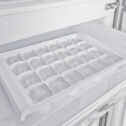 Холодильник с морозильником Samsung RL52TEBIH1/BWT серебристый