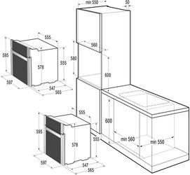 Электрический духовой шкаф Korting OKB 793 CMX